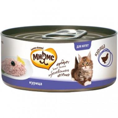 МНЯМС консервы для котят курица в нежном желе, уп. 70 г