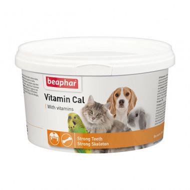 Beaphar Vitamin Cal витаминная смесь для укрепления иммунитета для животных и птиц,, уп. 250 г