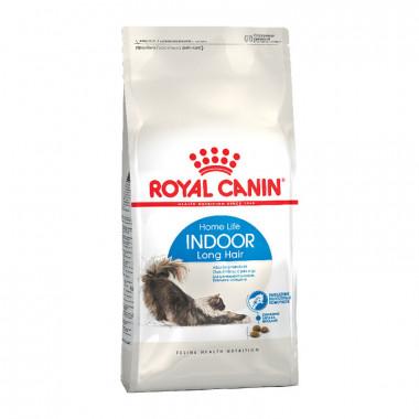 Royal Canin Indoor Long Hair корм для кошек с длинной шерстью, постоянно живущих дома, уп. 2 кг
