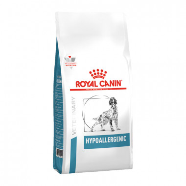 Royal Canin Hypoallergenic корм для собак, с пищевой аллергией или непереносимостью, уп. 2 кг