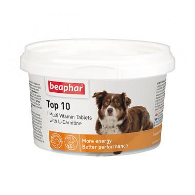 Beaphar Тор 10 Multi Vitamin мультивитамины для собак,, уп. 180 таблеток