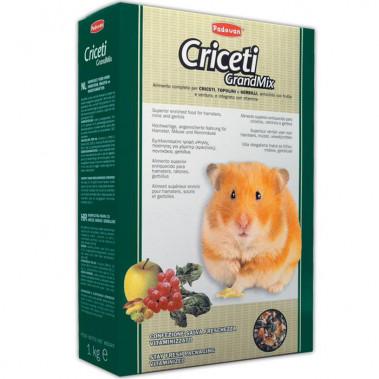 Padovan GrandMix Criceti комплексный корм для хомяков и мышей, уп. 1 кг